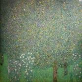 Rosiers sous les arbres, Gustav Klimt, 1905