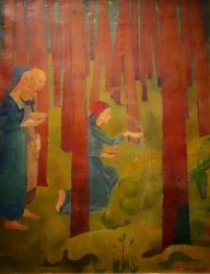 L'incantation ou le bois sacré, Paul Sérusier, 1891