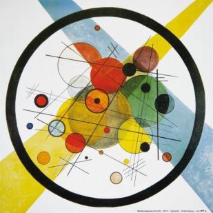 Cercles dans un cercle, Vassily Kandinsky