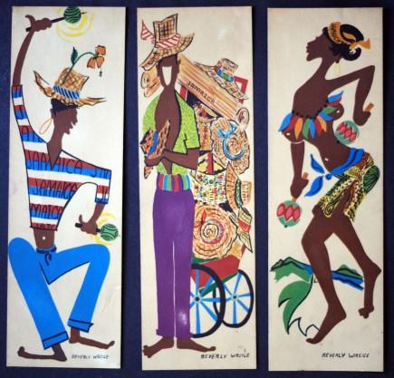 Ensemble de cartes postales, Illustration Beverly Wasile