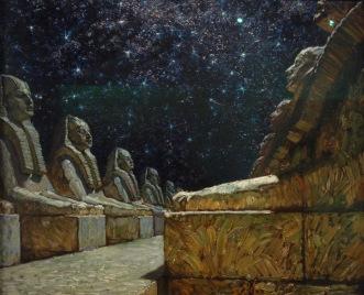 Voie du silence (les Sphinges), 1903