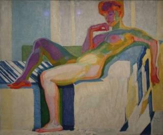 Grand nu, plans par couleurs, 1909-1910