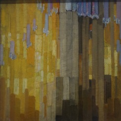Ordonnance sur verticales en jaune, 1913