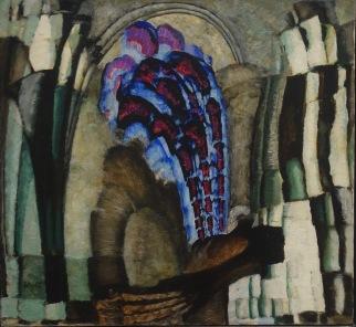 Crépuscule et lumière (ou Contrastes gothiques), 1920-1921