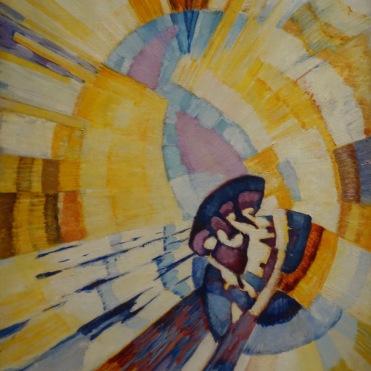 La forme du jaune (Notre-Dame), 1911